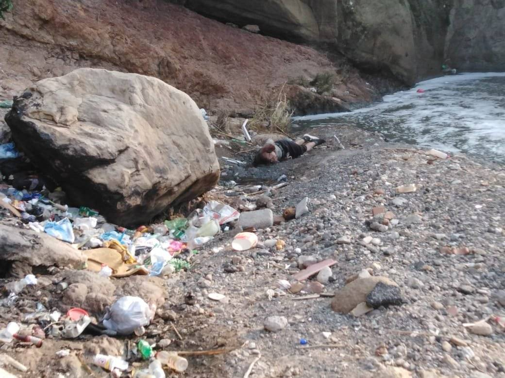 cadáver de hombre localizado en río Las Vacas