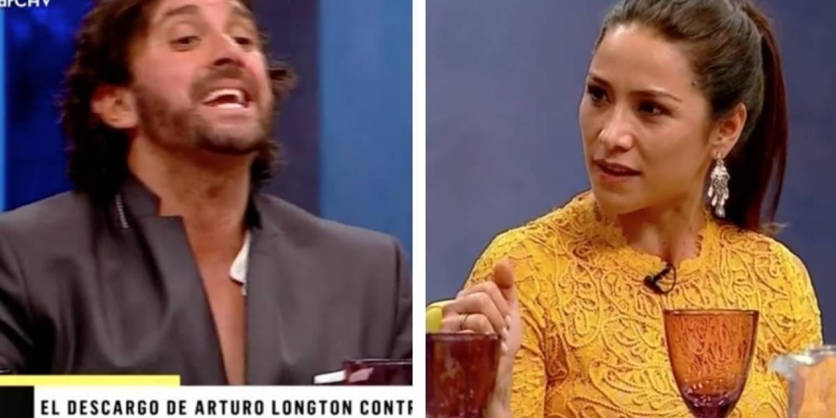 "Loreto Aravena lanza teoría tras pataleta de Arturo Longton: ""Se le pasaron las copas"""