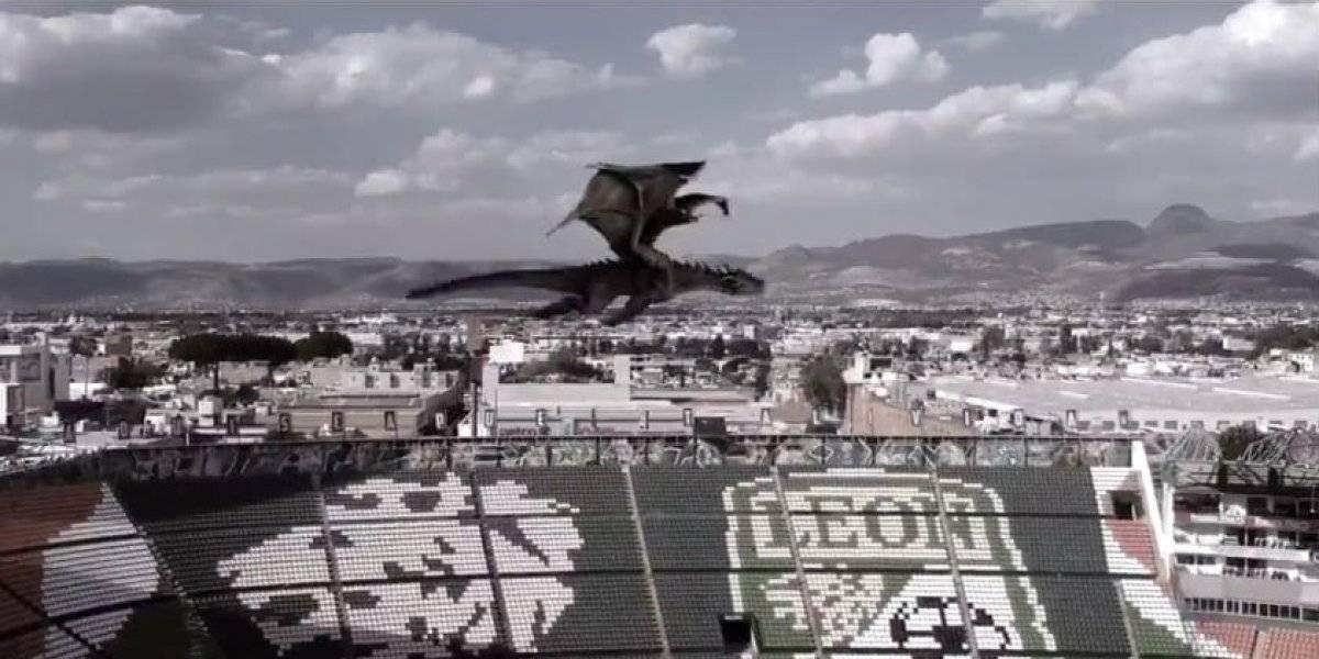 VIDEO: León celebra clasificación a la Liguilla al estilo de Game of Thrones