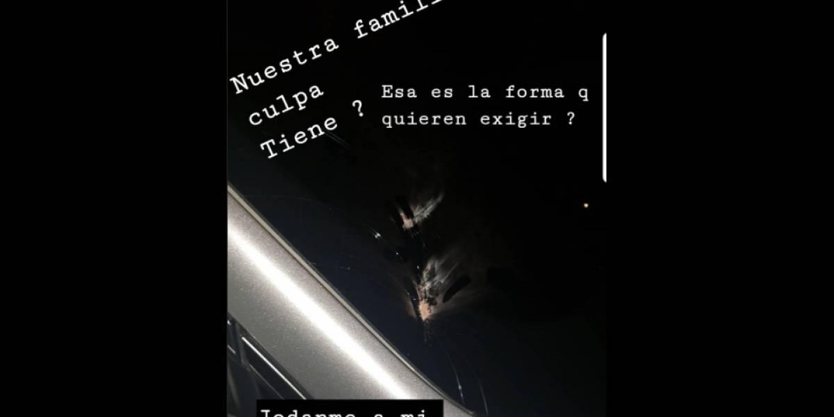 ¡Así no es! Jugador del Junior denunció agresión de hinchas contra su familia