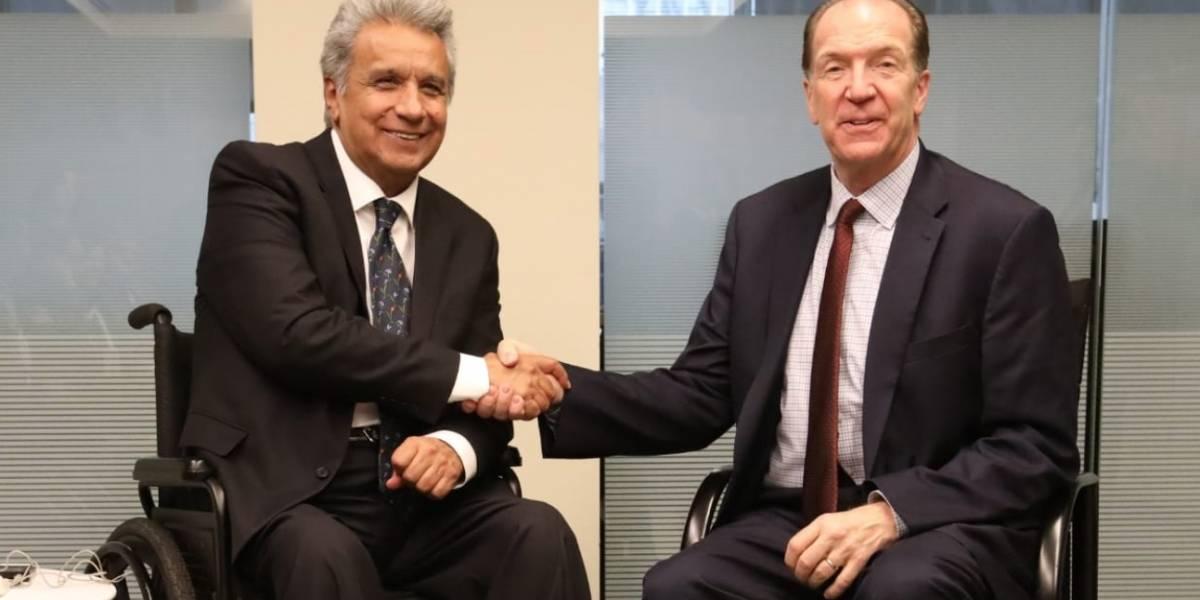 Banco Mundial destina 500 millones de dólares para Ecuador