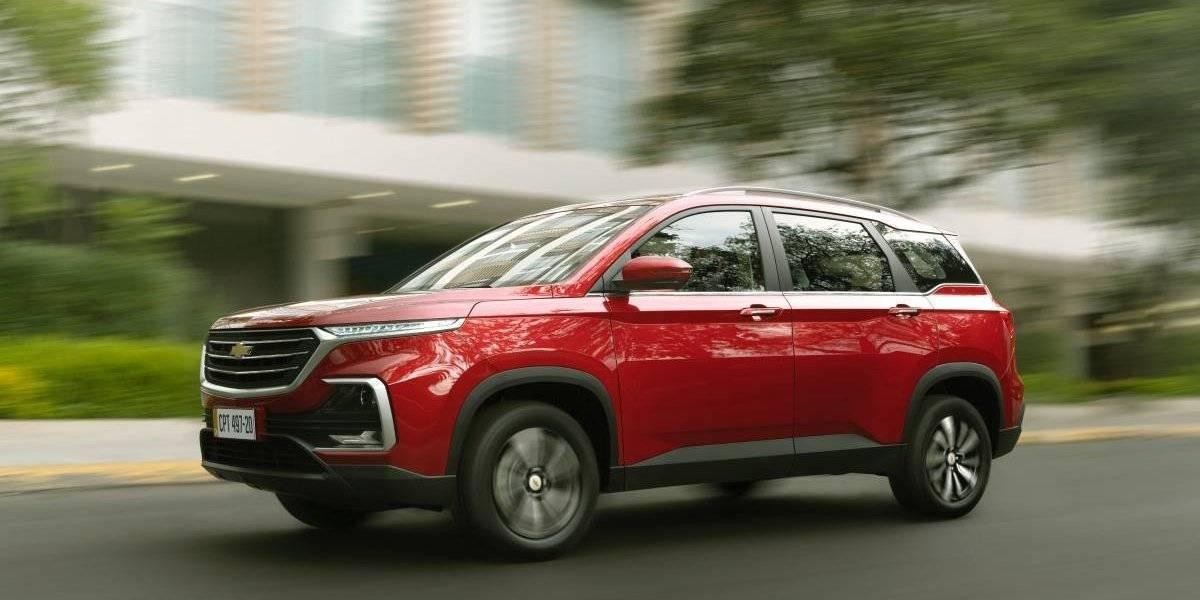 La familia SUV de Chevrolet sigue en expansión con Captiva