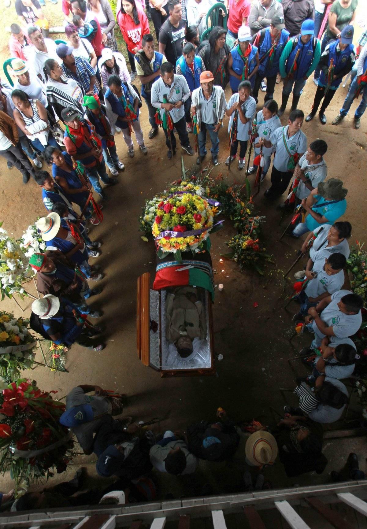 Edwin Dagua Ipias líder asesinado