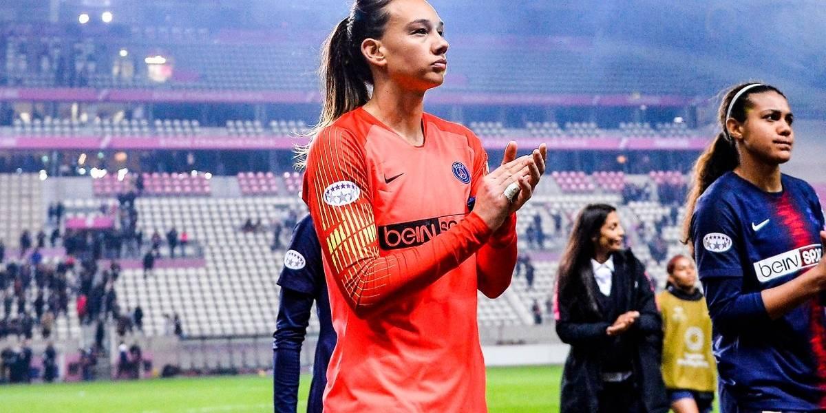Brillante: Tiane Endler fue elegida la mejor arquera del fútbol francés