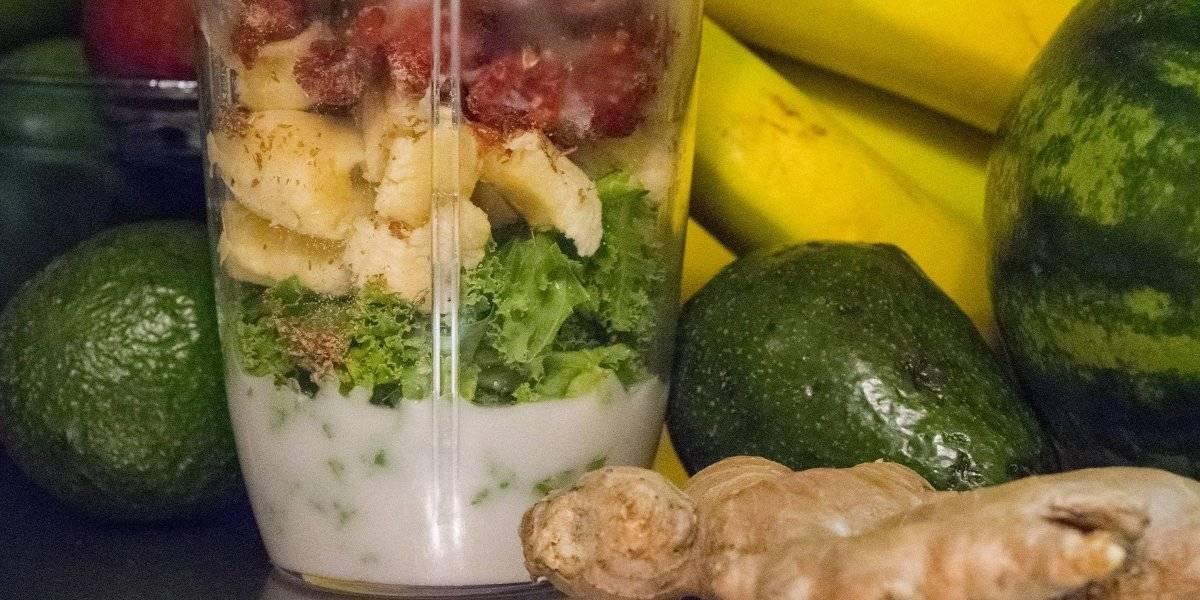 Vitamina de banana, linhaça e gengibre para emagrecer e ter energia para começar o dia