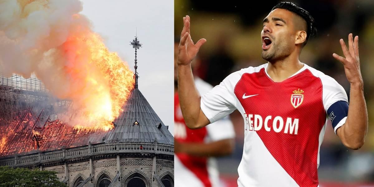 El conmovedor mensaje de Radamel Falcao García por incendio de Notre Dame