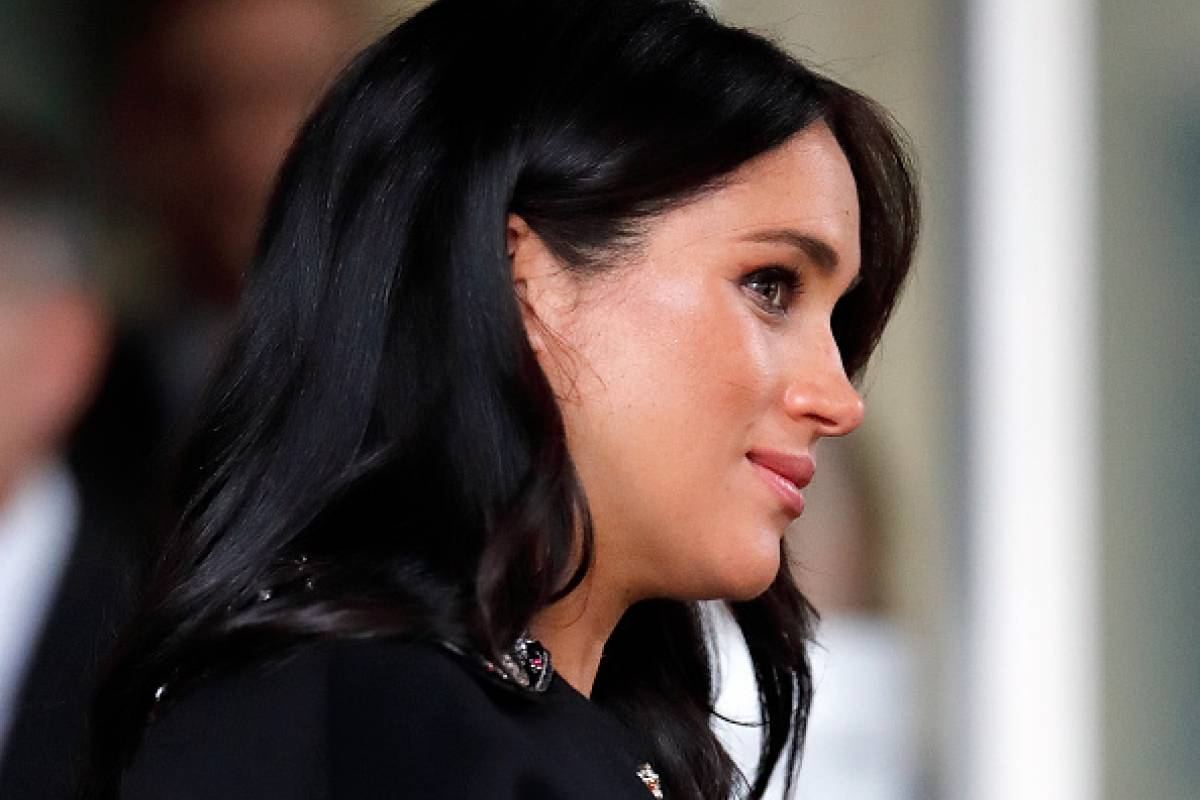 meghan markle s sad confession her first year of marriage difficult meghan markle s sad confession her