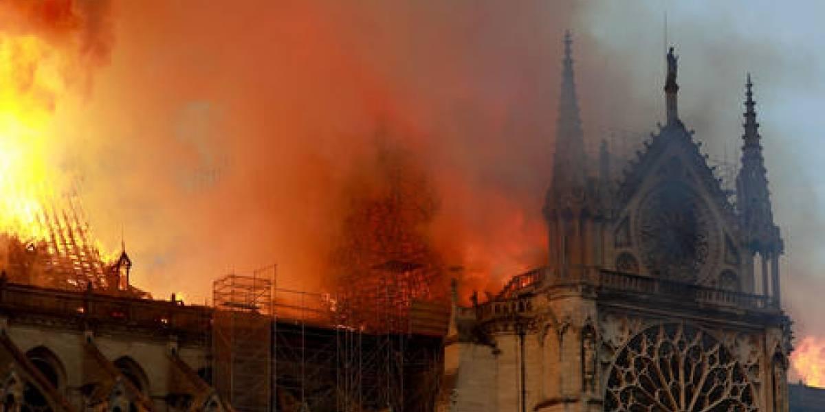 Notre Dame es devastada por el fuego