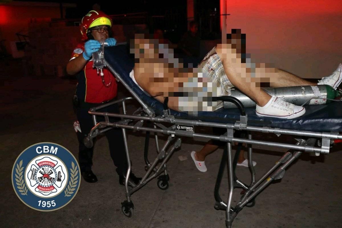 dos heridos tras ataque armado en zona 21