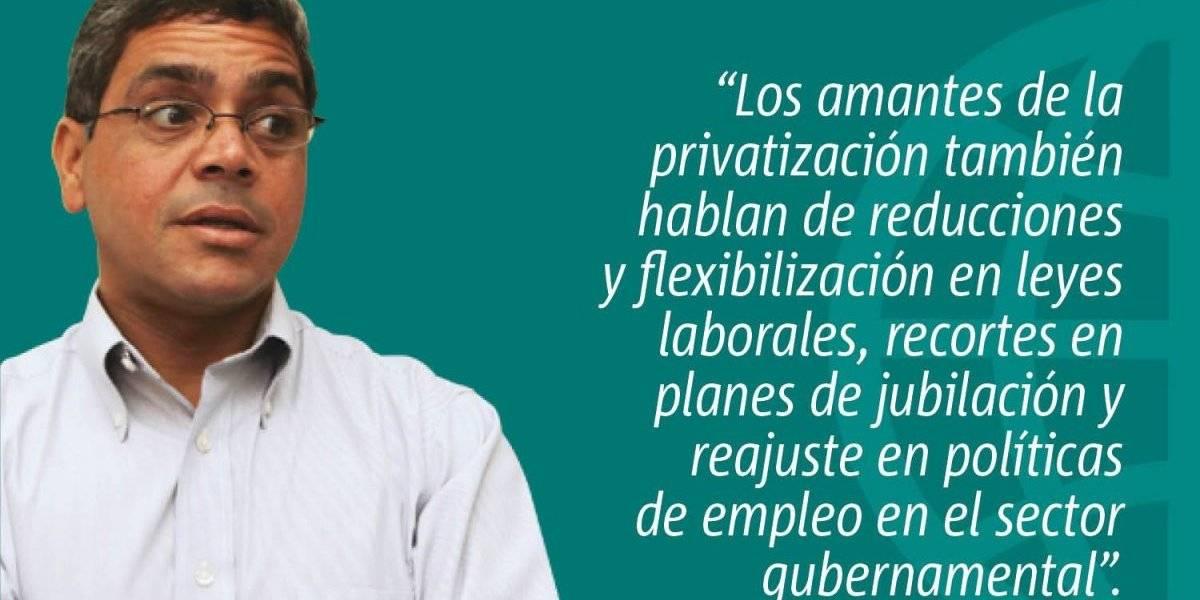 Errada política privatizadora