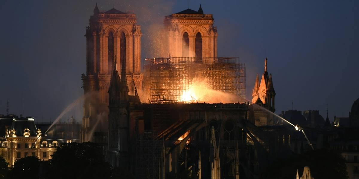 "Guatemala lamenta ""terrible"" incendio en Catedral de Notre Dame"