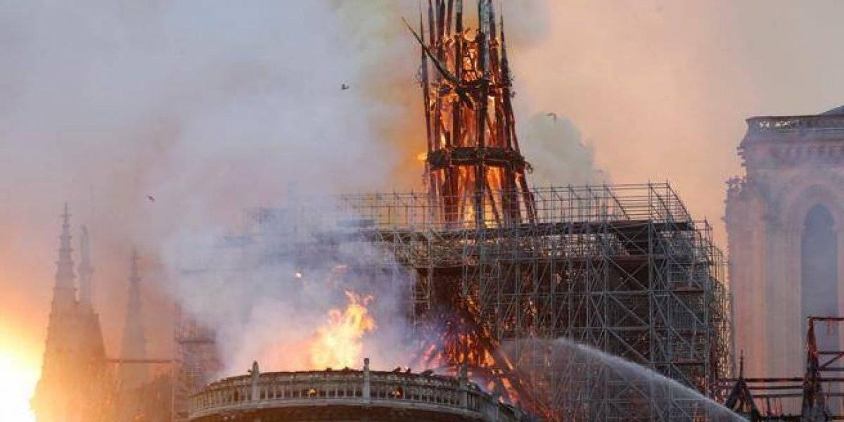 Las imágenes del incendio en la catedral de Notre Dame que han impactado en Twitter