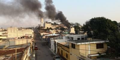 incendio en vivienda de zona 11
