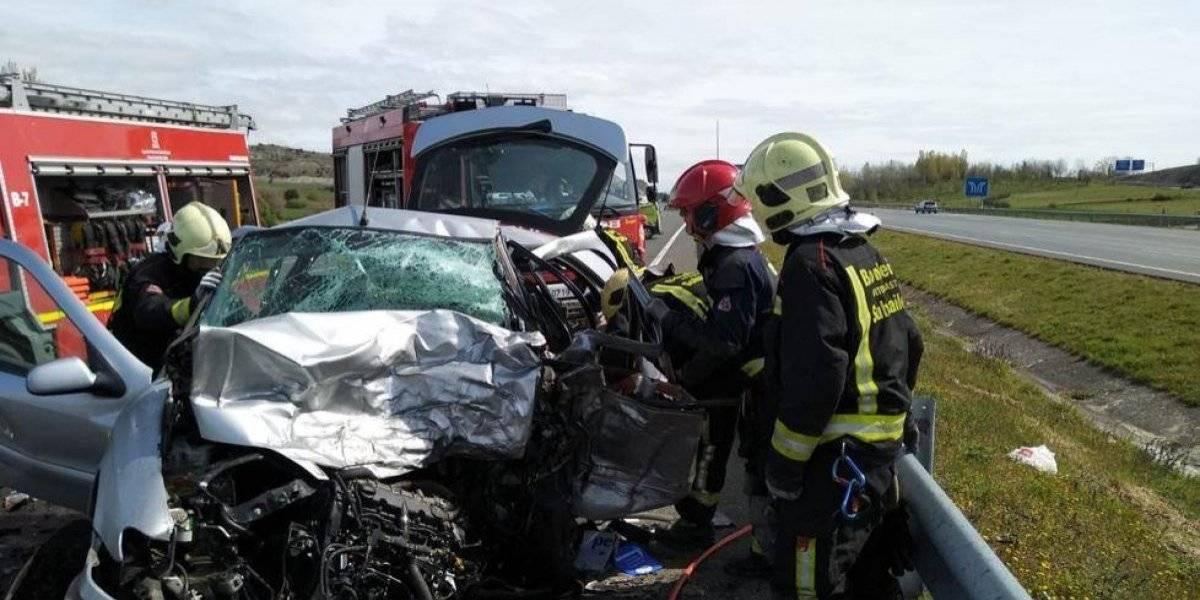 Conmoción en la Real Sociedad por accidente automovilístico de uno de sus directivos