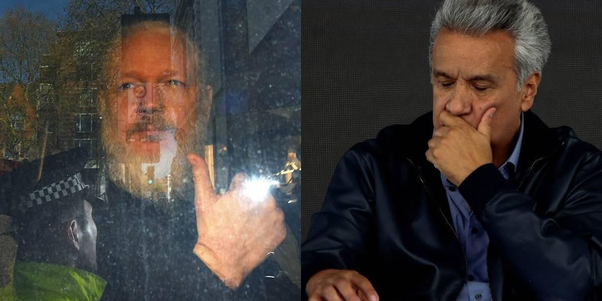 Lenín Moreno sobre Julian Assange: Intentó usar la embajada en Londres como centro de espionaje