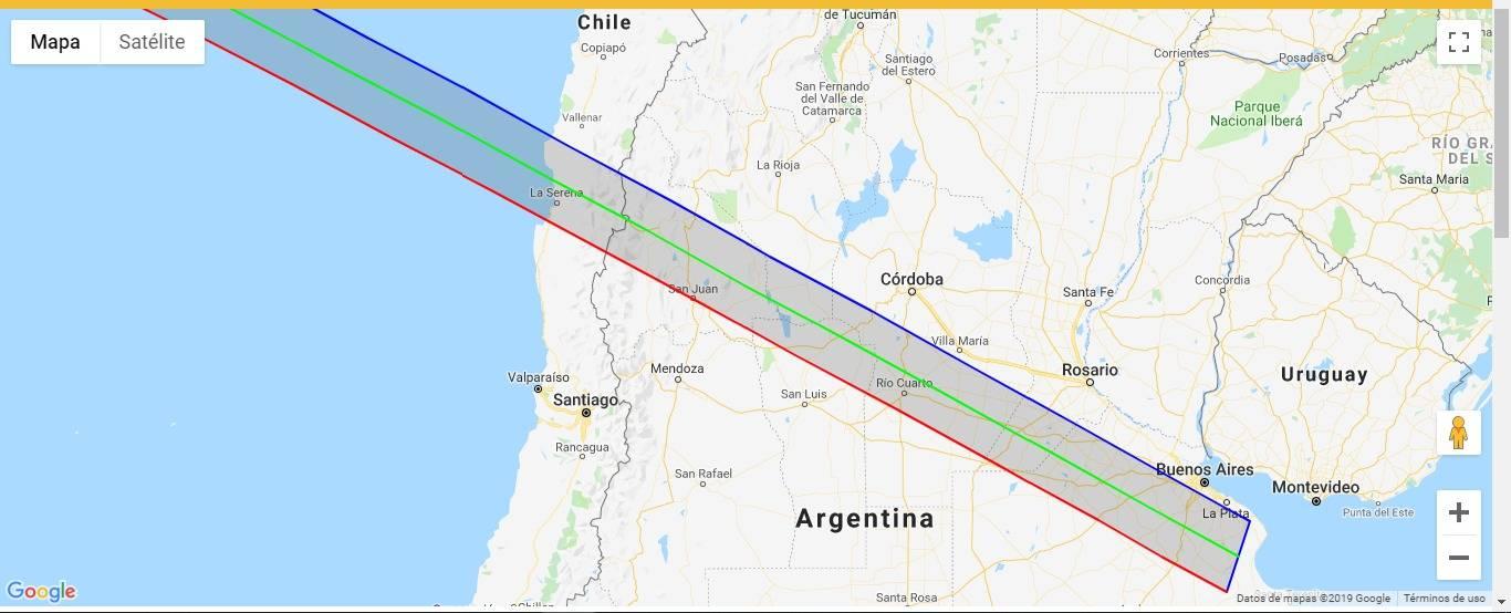 Eclipse solar en Chile: Mapa interactivo te permite ver que porcentaje de oscuridad se verá en tu ciudad