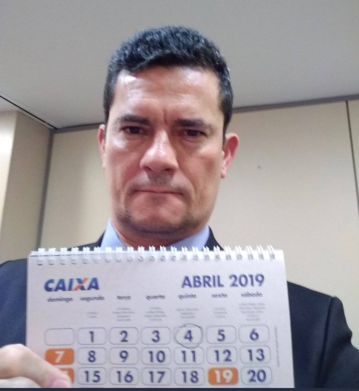 Sérgio Moro no Twitter