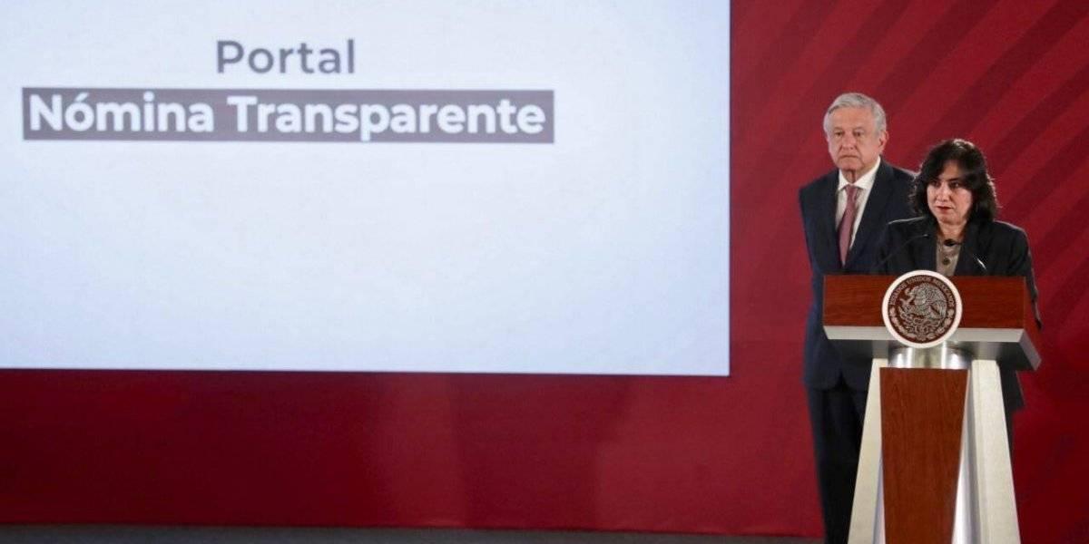 'Nómina Transparente' revela el sueldo de servidores públicos
