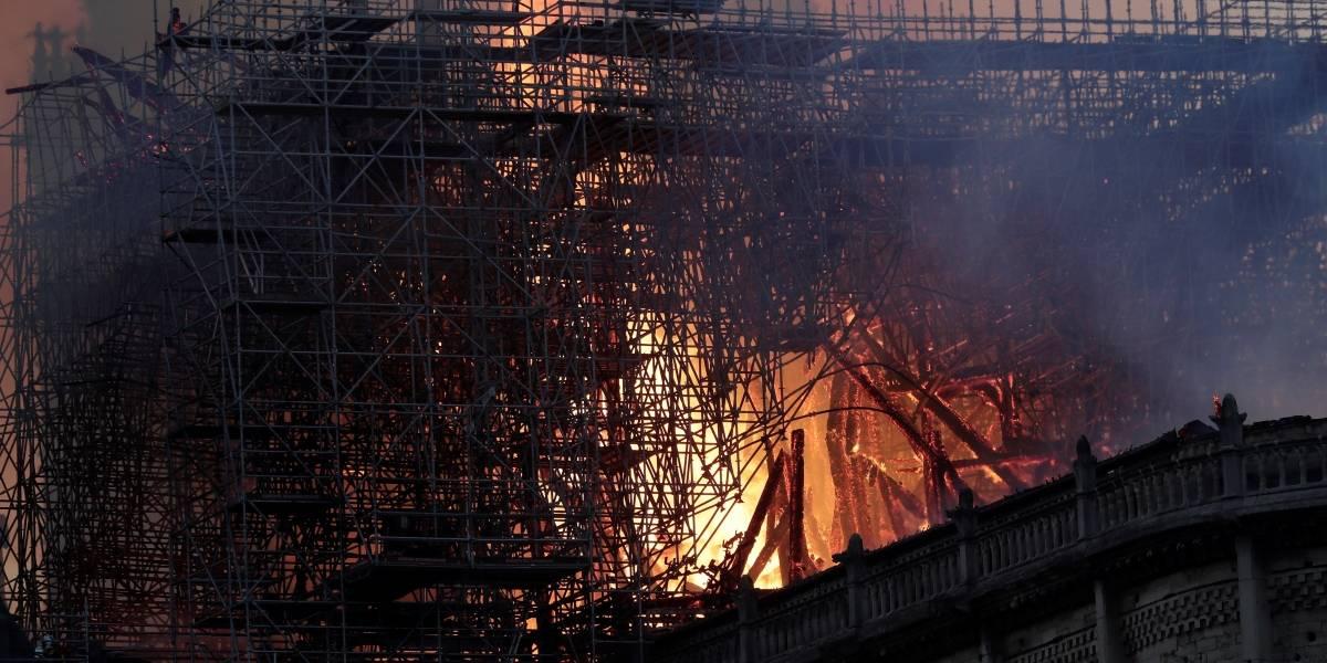 """""""La estructura de Notre Dame está salvada"""", según Gobierno francés"""