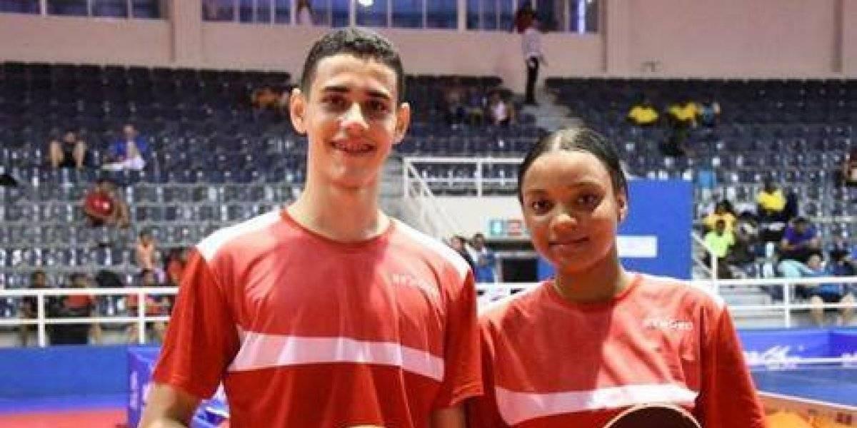 Mucho oro para RD en el Caribe tenis de mesa