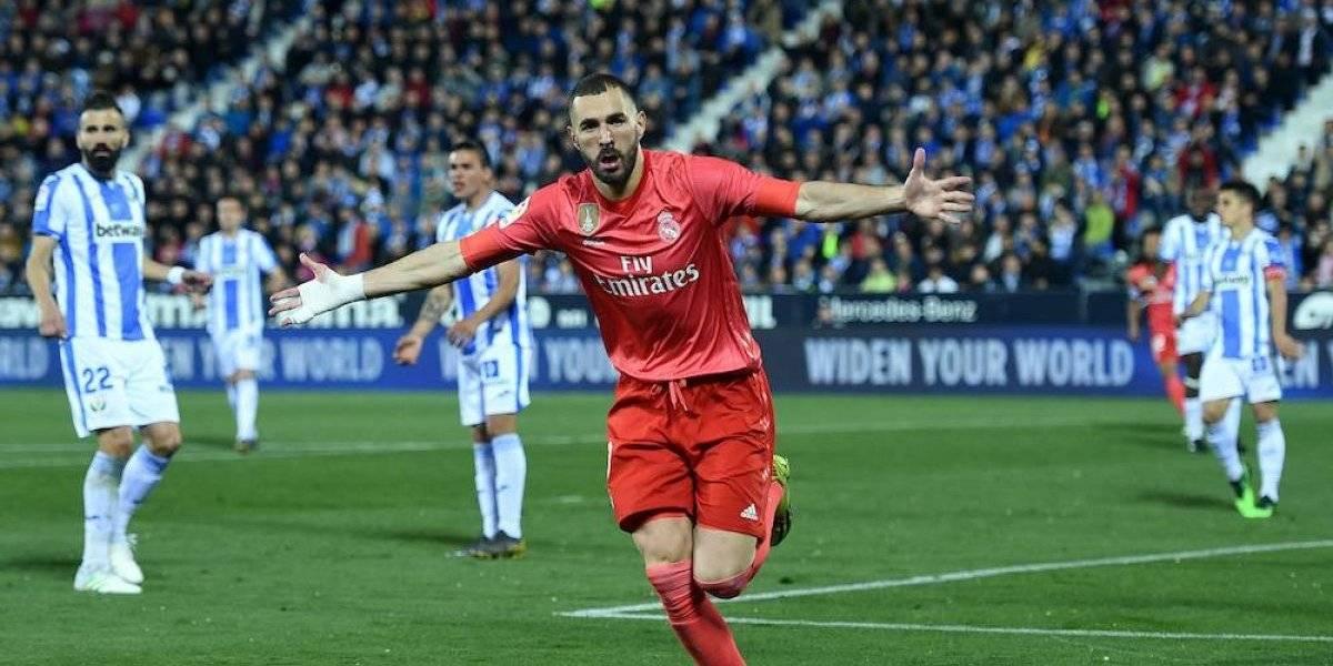 Benzema rescata al Real Madrid de una nueva derrota