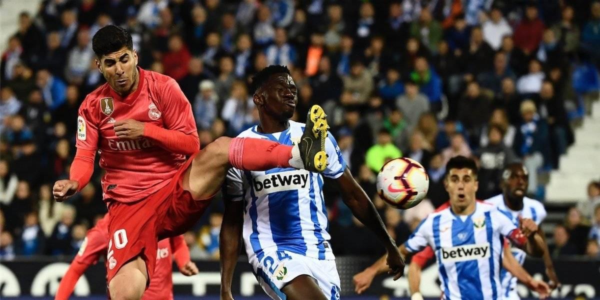 Benzema evita el bochorno del Real Madrid ante el Leganés