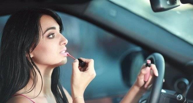 Maquillaje al volante