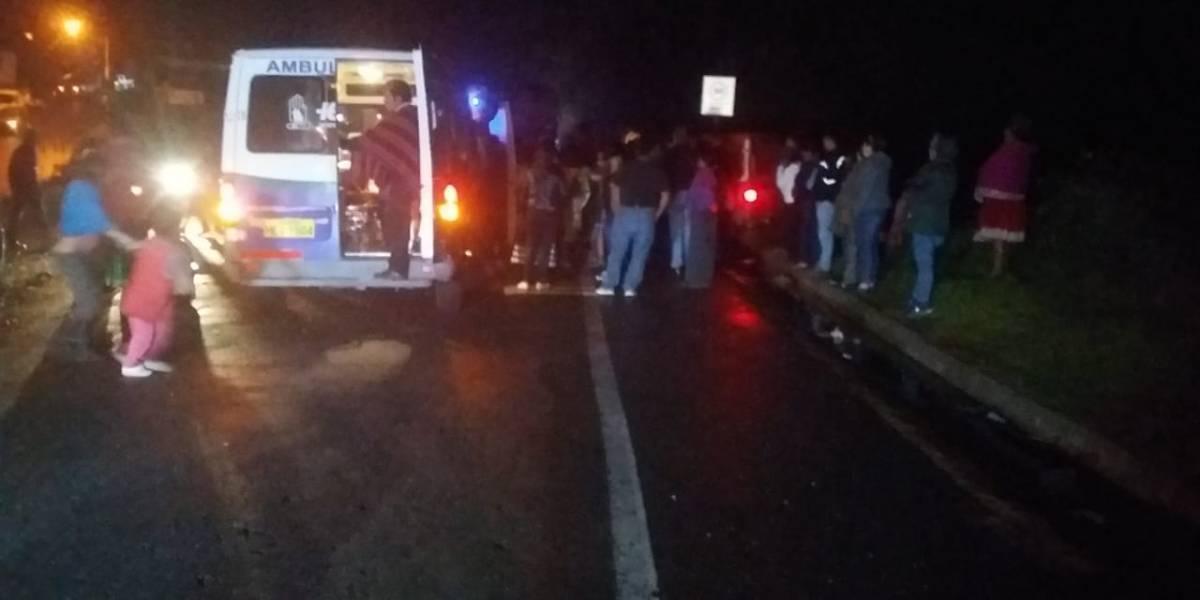 Chimborazo: Accidente de tránsito en Alausí deja seis heridos y dos muertos