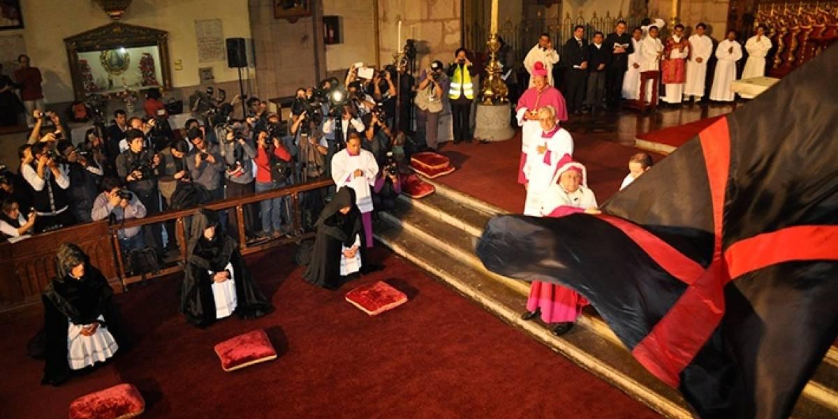El Arrastre de Caudas, un ritual lleno de fe