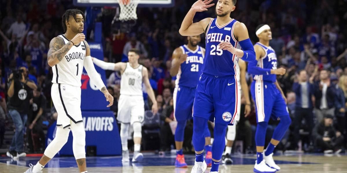 Sixers sacan la cara ante los Nets y empatan la serie