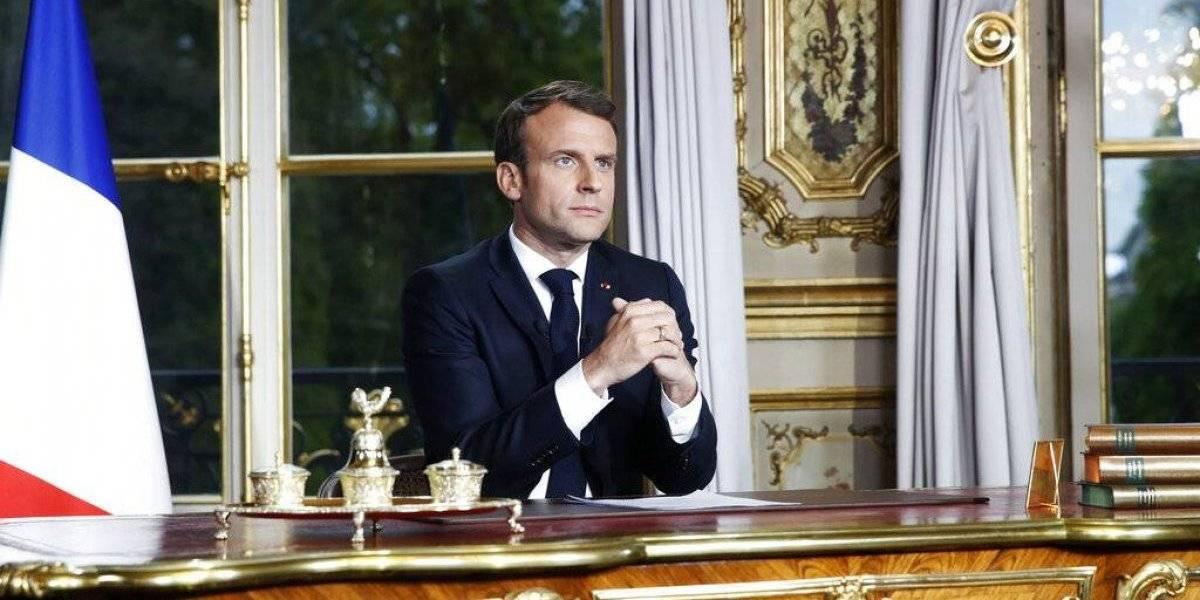 """Reconstruiremos Notre Dame """"en cinco años"""", asegura Emmanuel Macron"""