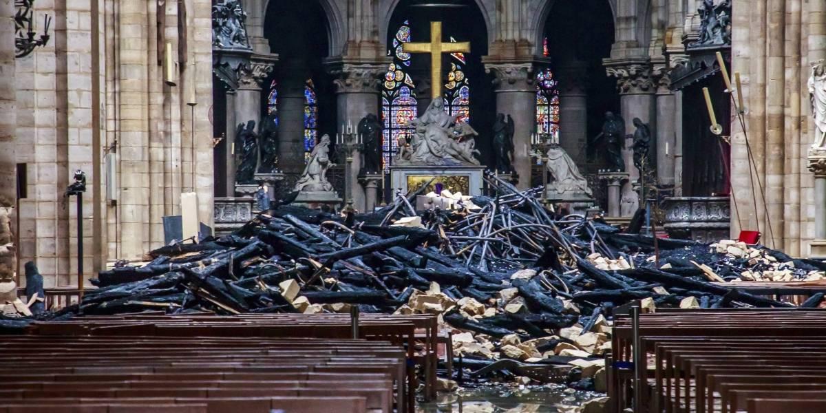Notre Dame hecha cenizas: los años que se necesitarán para reconstruir la majestuosa catedral