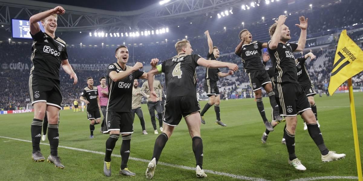 El brillante Ajax dio otro batacazo en la Champions y ahora eliminó a la Juventus de Cristiano Ronaldo