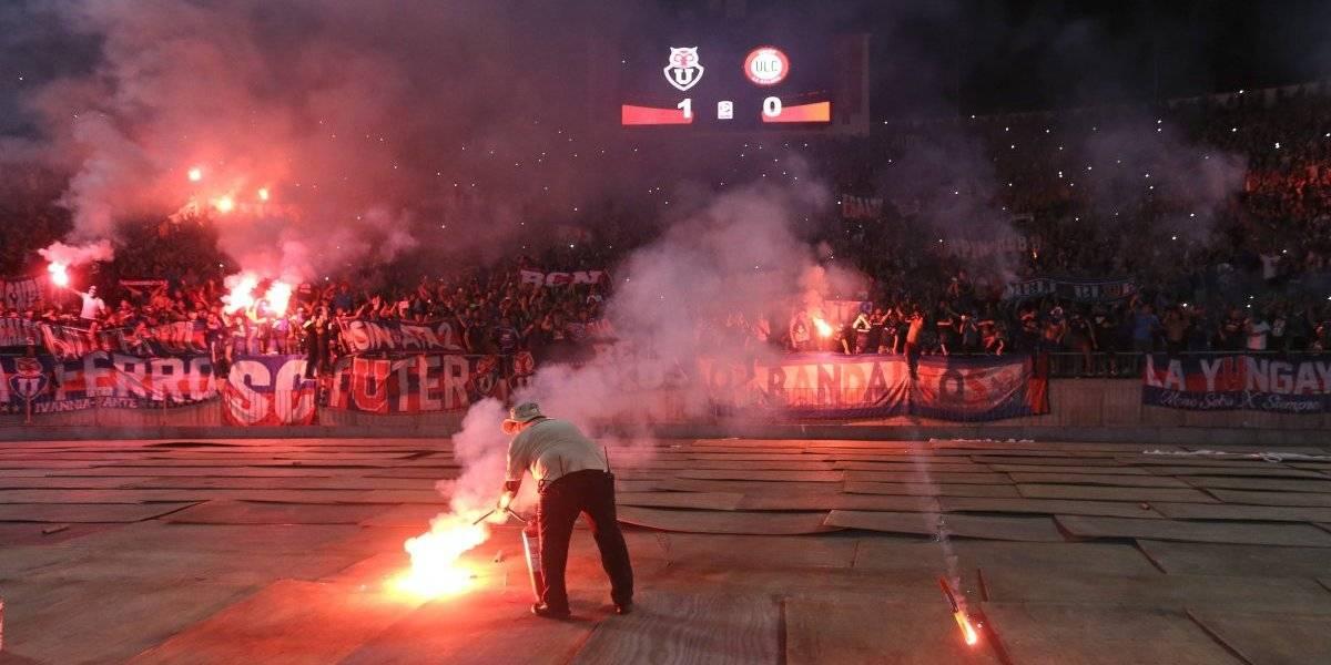 Diputados oficialistas pidieron que la U no juegue más en el Estadio Nacional