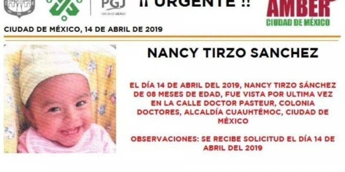 Mujer roba a bebé de ocho meses en el Hospital General; difunden su retrato
