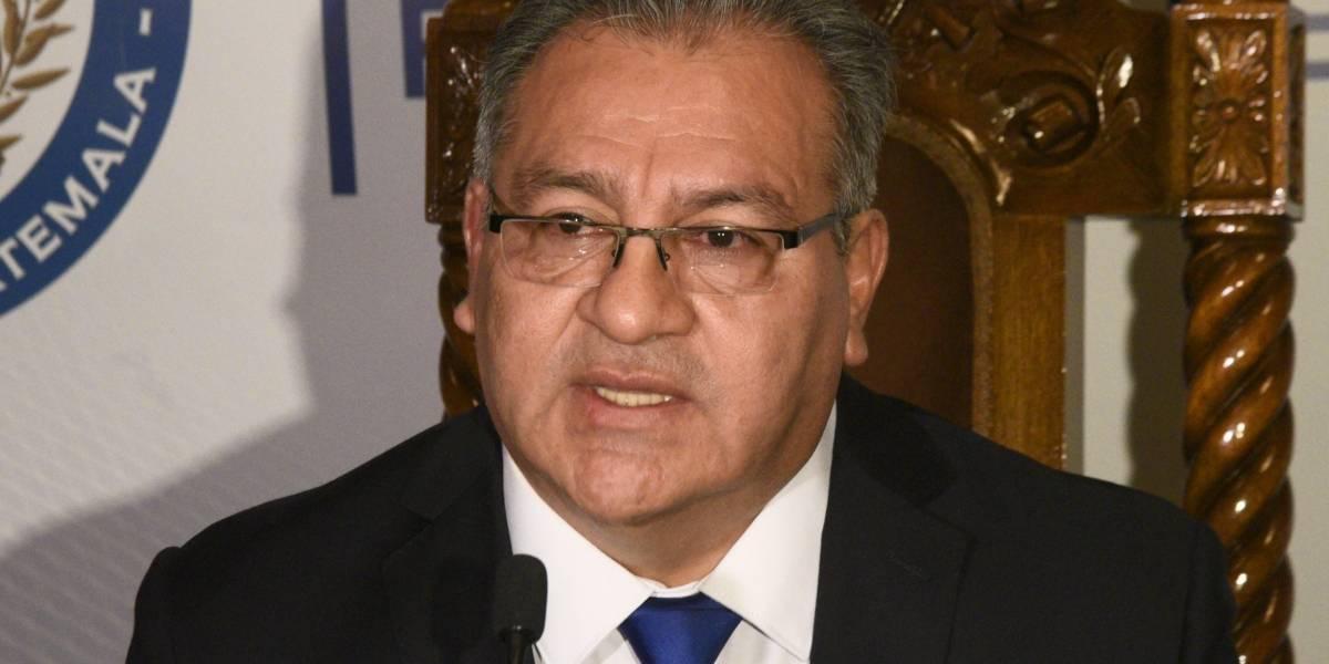 Reforzar cuatro áreas en la Corte de Constitucional, la propuesta de Bonerge Mejía