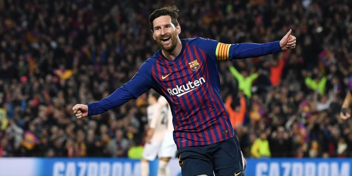 ¡Barcelona está en 'semis'! Messi le hizo vivir un calvario al Manchester United