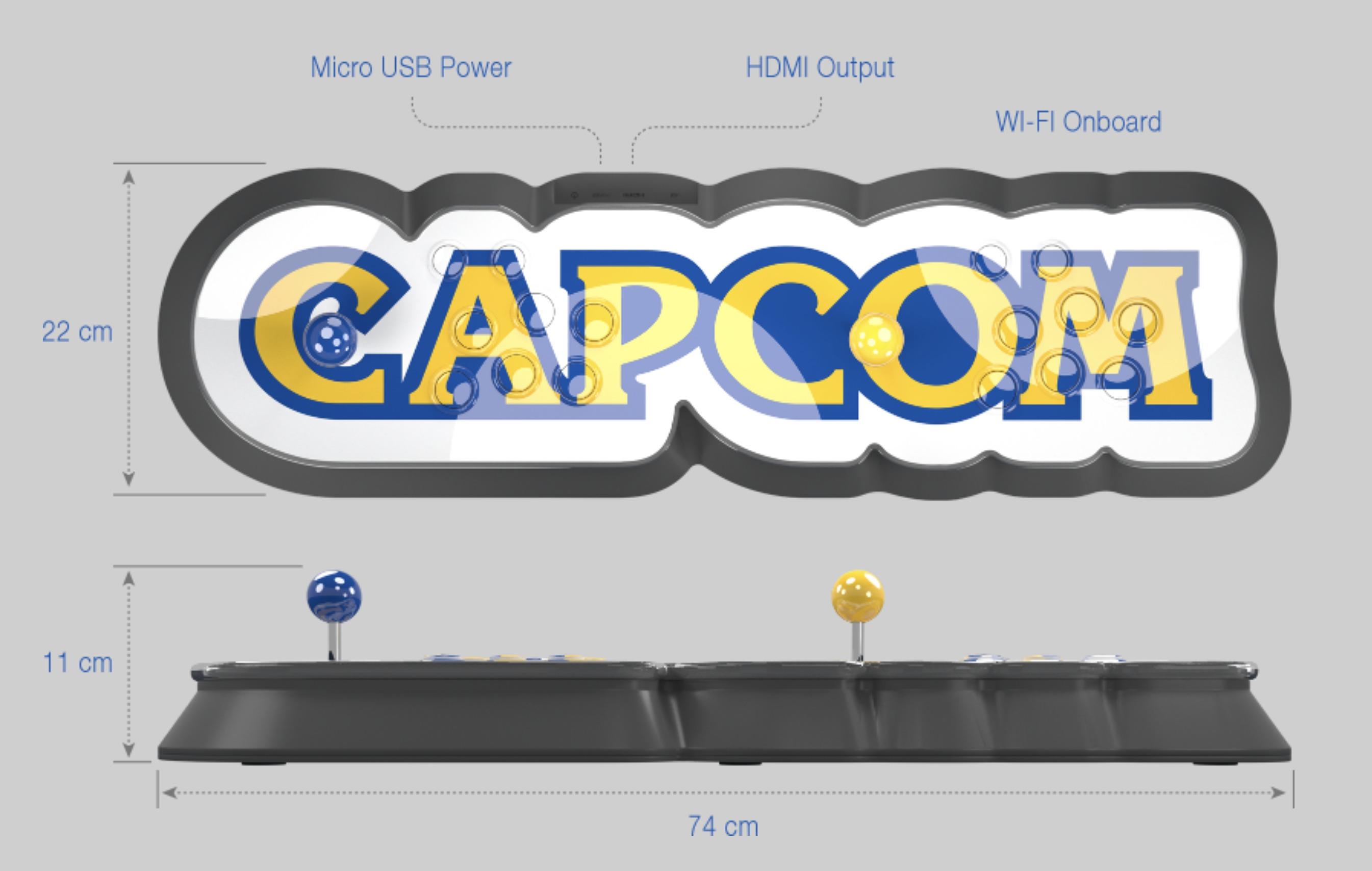 Se anuncia Capcom Home Arcade, la consola que busca revivir el amor por los arcades