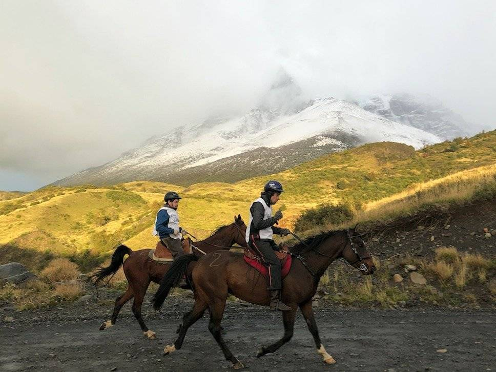 El hotel Las Torres organizó el pasado fin de semana la decimoquinta edición y última del enduro ecuestre en la reserva Cerro Paine Publimetro