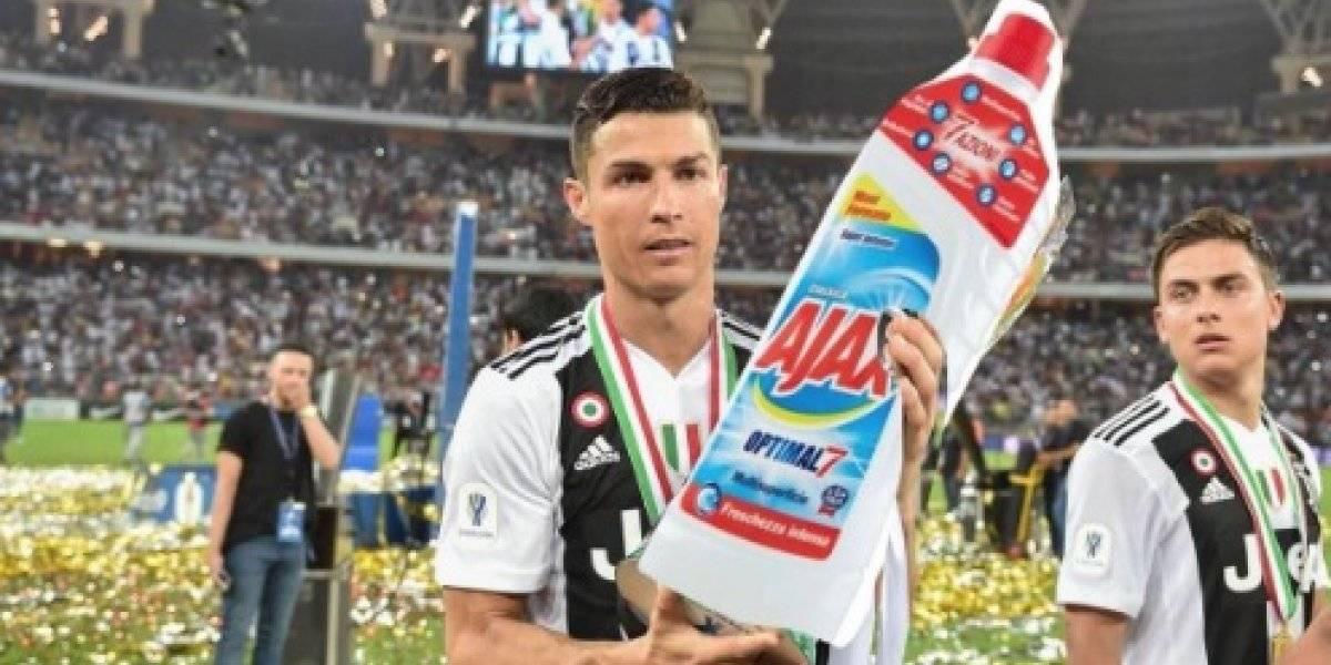 Cristiano Ronaldo se convierte en el protagonista de los memes tras la eliminación de la Juventus
