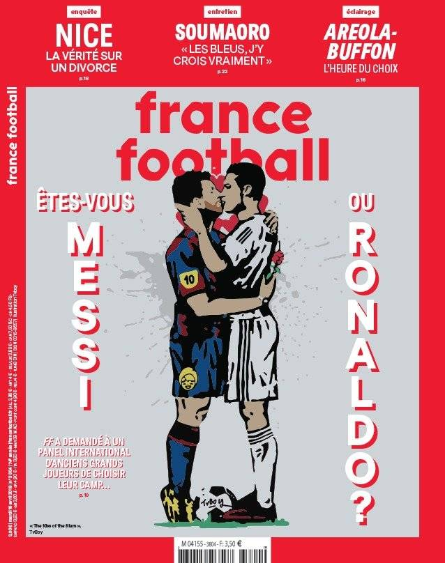 france football messi cr7