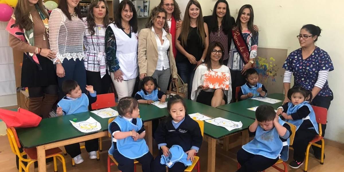 Lilian Yunda visitó el Centro Terapéutico de la Fundación Reina de Quito