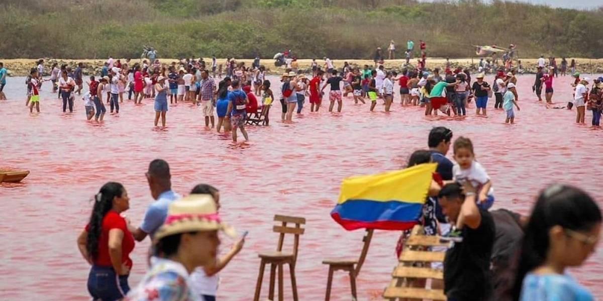 Turismo invasivo afectaría producción de sal en mar rojo de Galerazamba