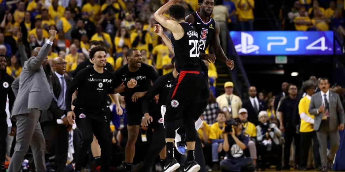 Clippers hacen historia al remontar 31 puntos e igualar serie ante los Warriors