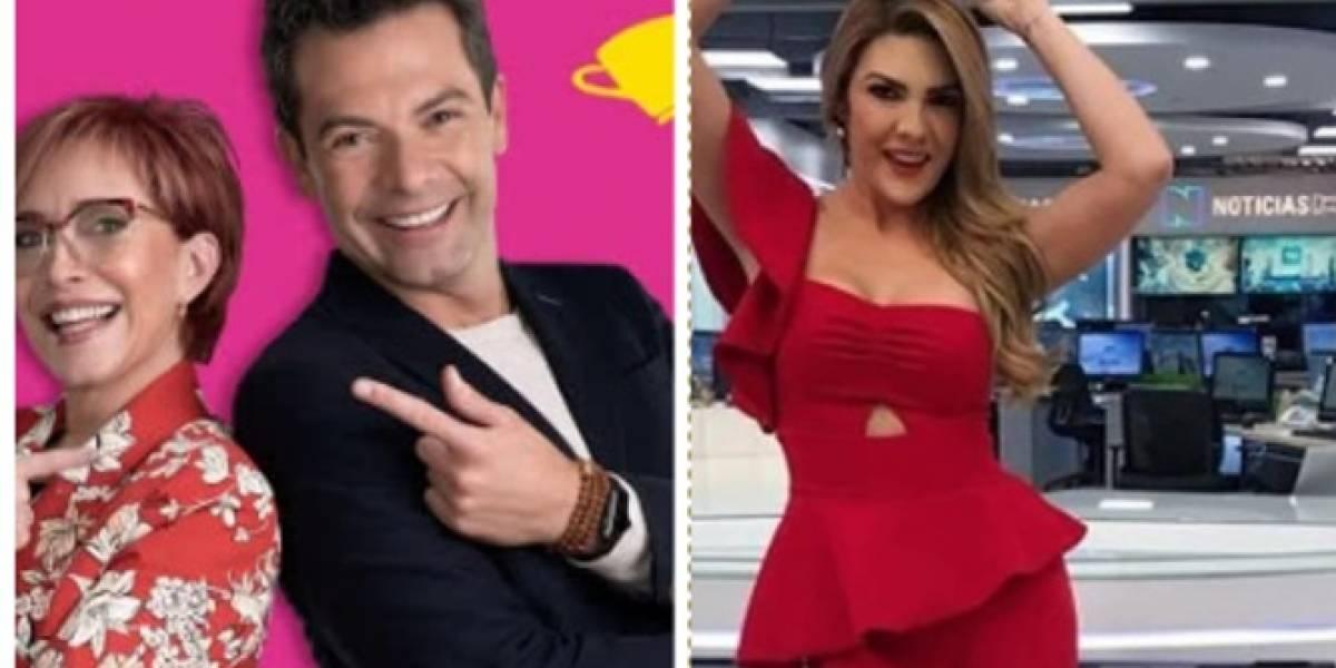 """""""Agarrón"""" entre Ana Karina Soto y Yaneth Waldman en 'El desayuno' fue para risas"""