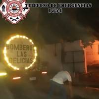 incendio en vivienda de Quetzaltenango
