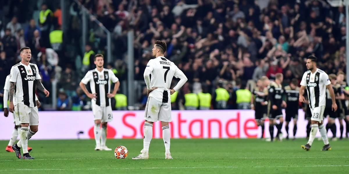 Ajax vence de virada e elimina Juve e CR7 da Champions