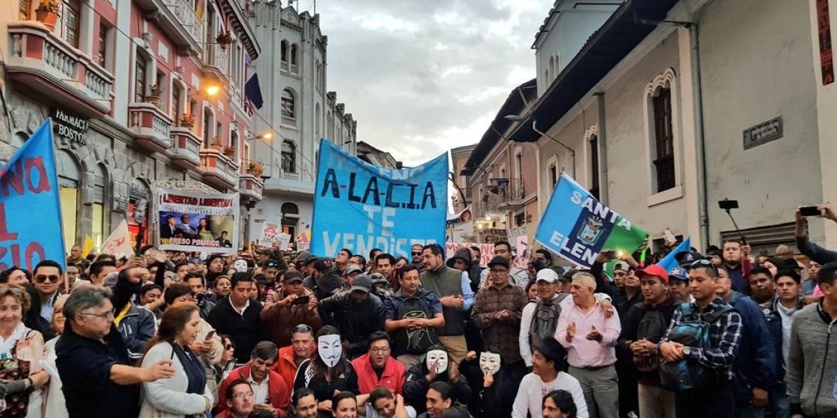 16 de abril: ¿Cuál es el estado de las vías en Quito por marcha?