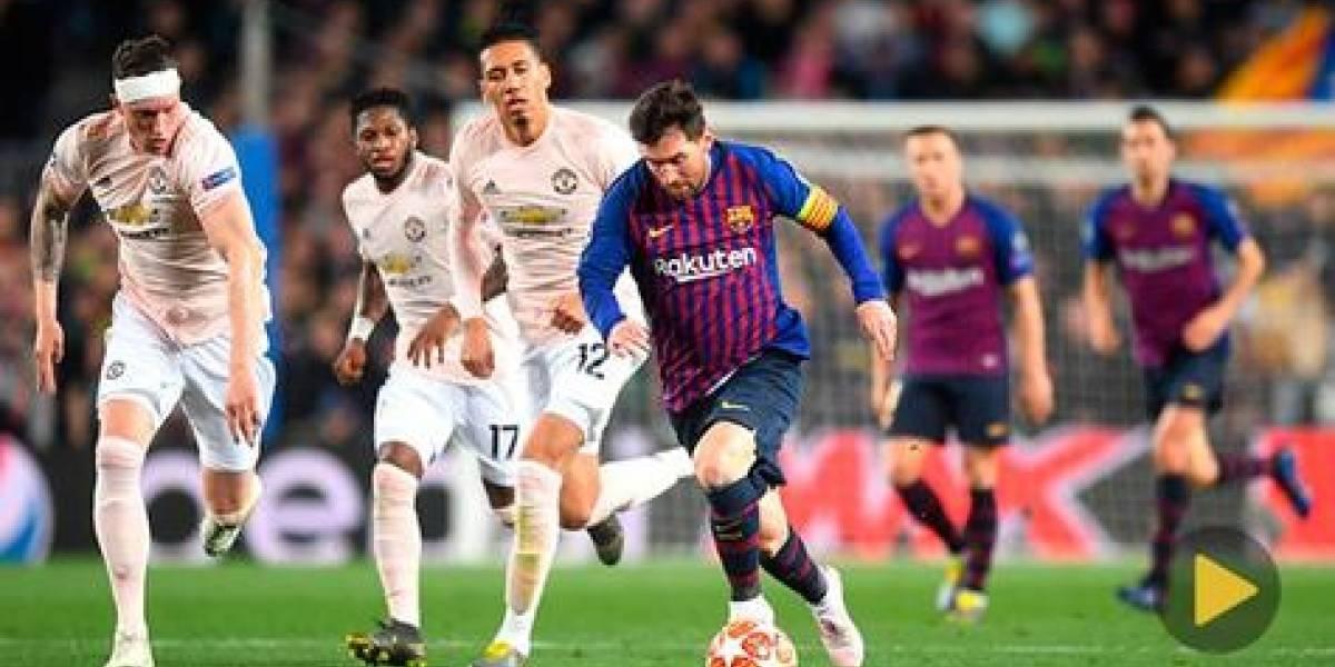 Messi lleva a Barcelona a semifinales de Champions
