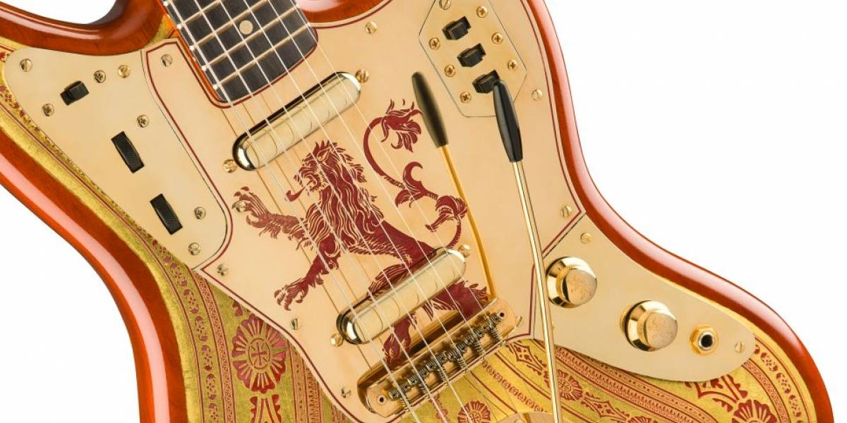 Fender anunció tres guitarras basadas en las casas de Game Of Thrones